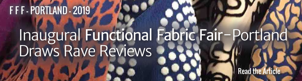 Inaugural Functional Fabric Fair-Portland 