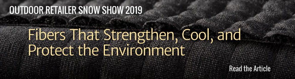 ORSS'19 Fibers That Strengthen, Cool and Protect the Environment